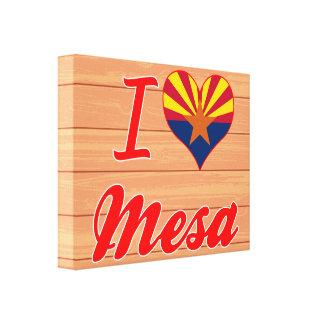 Amo Mesa, Arizona Lienzo Envuelto Para Galerias