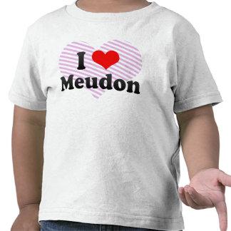 Amo Meudon Francia Camisetas