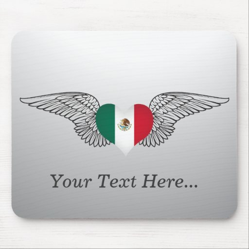 Amo México - alas Alfombrillas De Raton