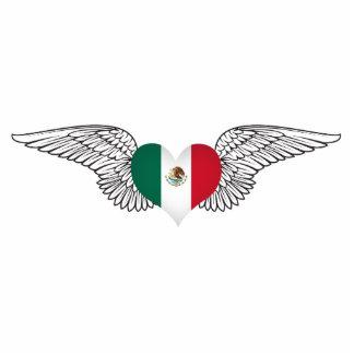 Amo México - alas Esculturas Fotográficas