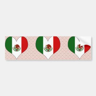 Amo México Pegatina Para Auto