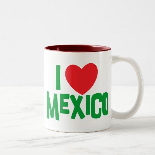 Amo México Taza De Dos Tonos