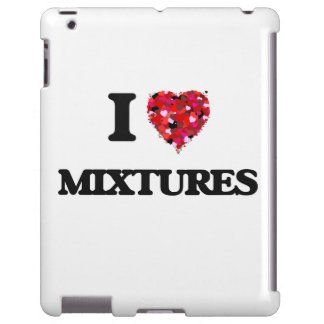 Amo mezclas funda para iPad