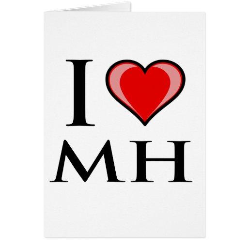 Amo Mh - Marshall Islands Tarjeta De Felicitación