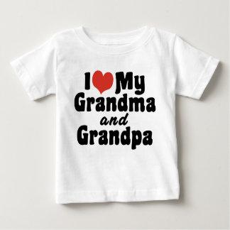 Amo mi abuela y abuelo playera