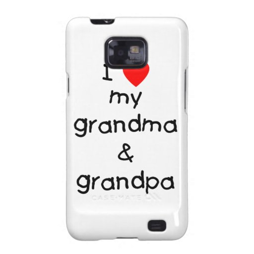 Amo mi abuela y abuelo samsung galaxy s2 fundas