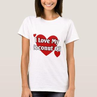 Amo mi aceite de coco playera
