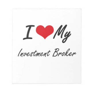 Amo mi agente de la inversión bloc