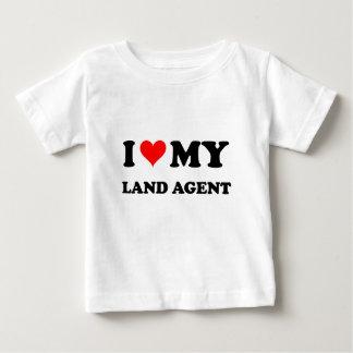 Amo mi agente de tierra playeras