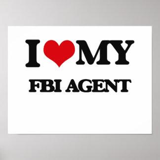 Amo mi agente del FBI Posters