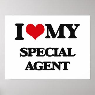 Amo mi agente especial impresiones