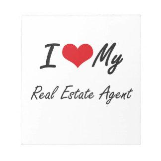 Amo mi agente inmobiliario bloc