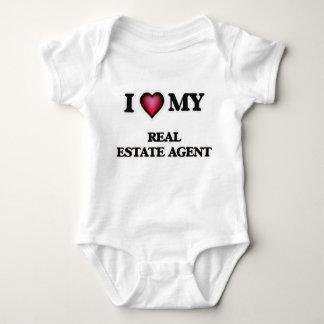 Amo mi agente inmobiliario polera