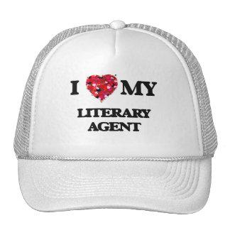 Amo mi agente literario gorras de camionero