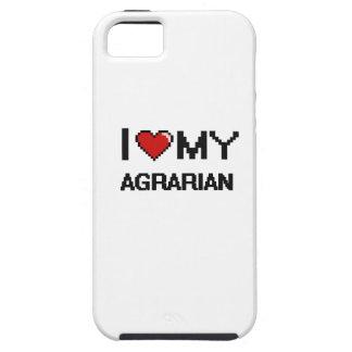 Amo mi agrario iPhone 5 fundas