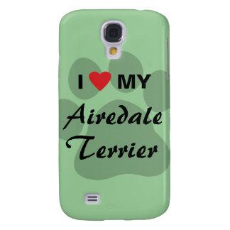 Amo mi Airedale Terrier Funda Para Galaxy S4