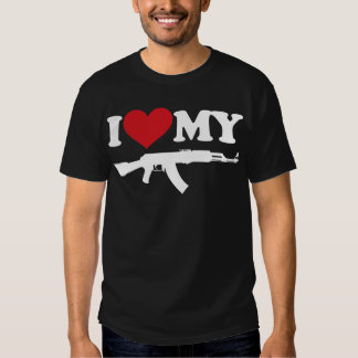 Amo mi AK47 Playera
