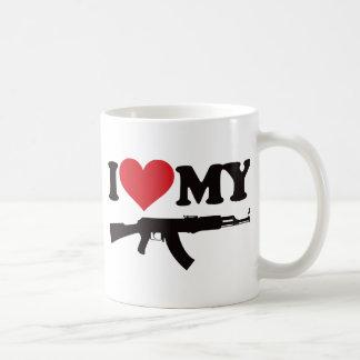 Amo mi AK47 Taza Clásica