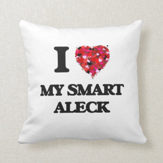 Amo mi Aleck elegante Almohada