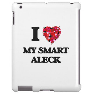Amo mi Aleck elegante Funda Para iPad