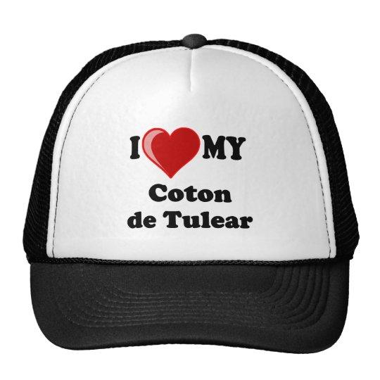 Amo mi algodón De Tulear Dog Gorro