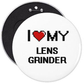 Amo mi amoladora de la lente chapa redonda 15 cm