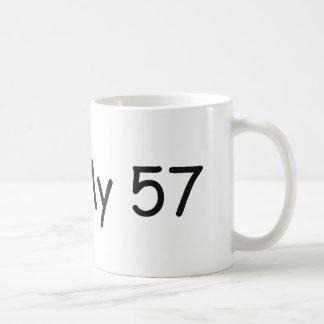 Amo mi amor de 57 I mis regalos por Gear4gearheads Taza