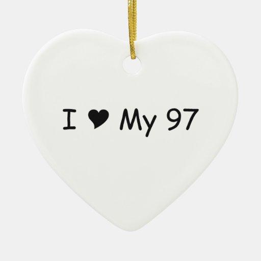 Amo mi amor de 97 I mis regalos por Gear4gearheads Ornatos