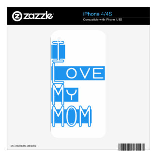 Amo mi amor iPhone 4S skins