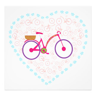 Amo mi ampliación de la foto de la bici fotografía