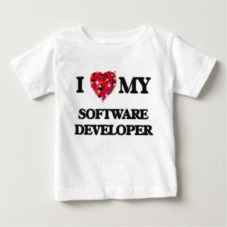 Amo mi analista de programas informáticos camisas