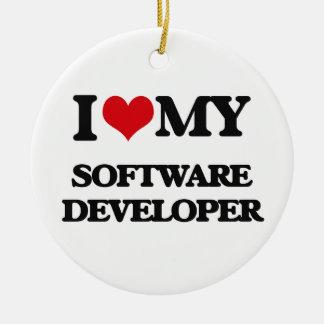 Amo mi analista de programas informáticos adorno