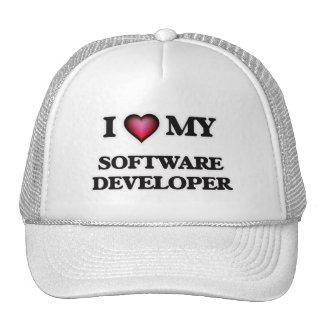 Amo mi analista de programas informáticos gorra