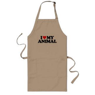 AMO MI ANIMAL DELANTALES