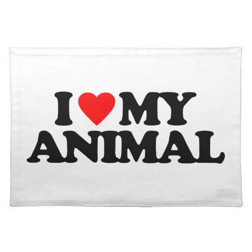 AMO MI ANIMAL MANTEL INDIVIDUAL