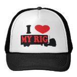 Amo mi aparejo gorras de camionero