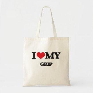 Amo mi apretón bolsas de mano