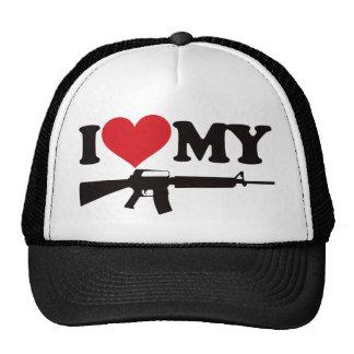 Amo mi AR15 Gorras