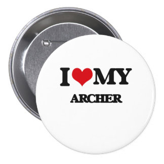 Amo mi Archer Pin