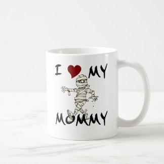 Amo mi artículo de la momia taza