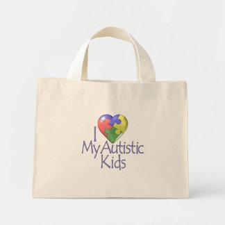 Amo mi autístico… bolsa tela pequeña
