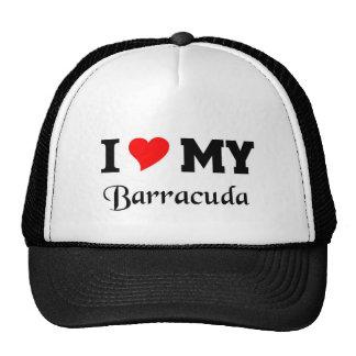 Amo mi Barracuda Gorros