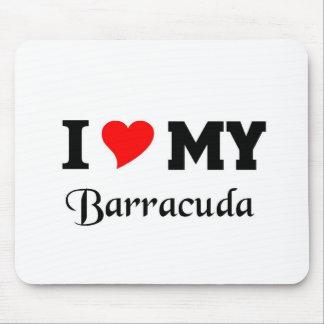 Amo mi Barracuda Alfombrilla De Ratón