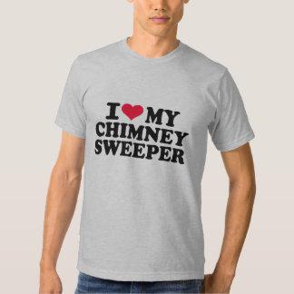 Amo mi barrendero de la chimenea camisas