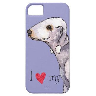 Amo mi Bedlington Terrier iPhone 5 Protector