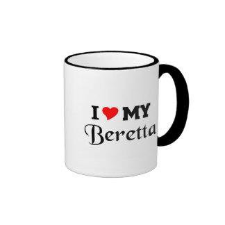 Amo mi Beretta Tazas De Café