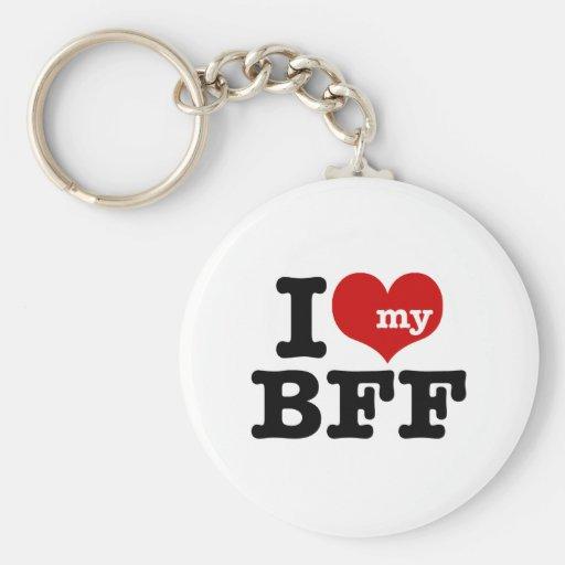 Amo mi BFF Llavero