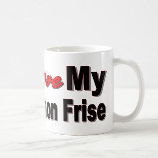 Amo mi Bichon Frise Taza Clásica
