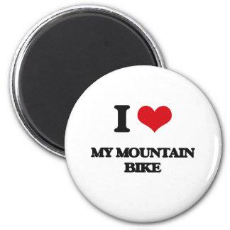 Amo mi bici de montaña imán