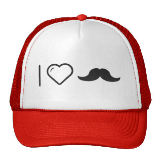 Amo mi bigote gorra
